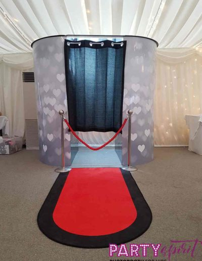 Party Spirit Photo Booth for hire Oxfordshire